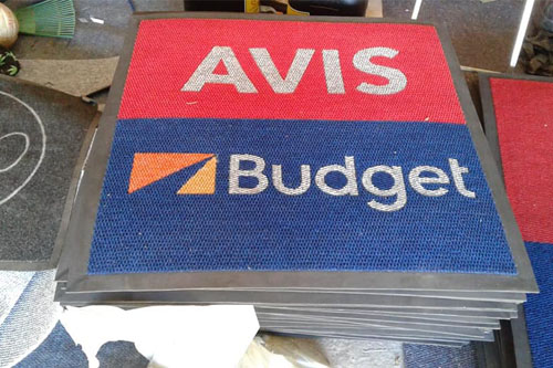 ALVIS BUDGET LOGO MATS READY FOR DELIVERY