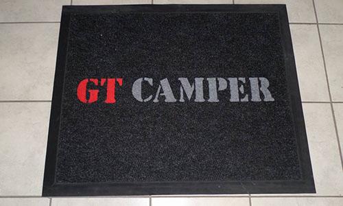 gt camper logo mat