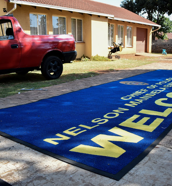 nelso mandela bay chief of ppolice promotional mats