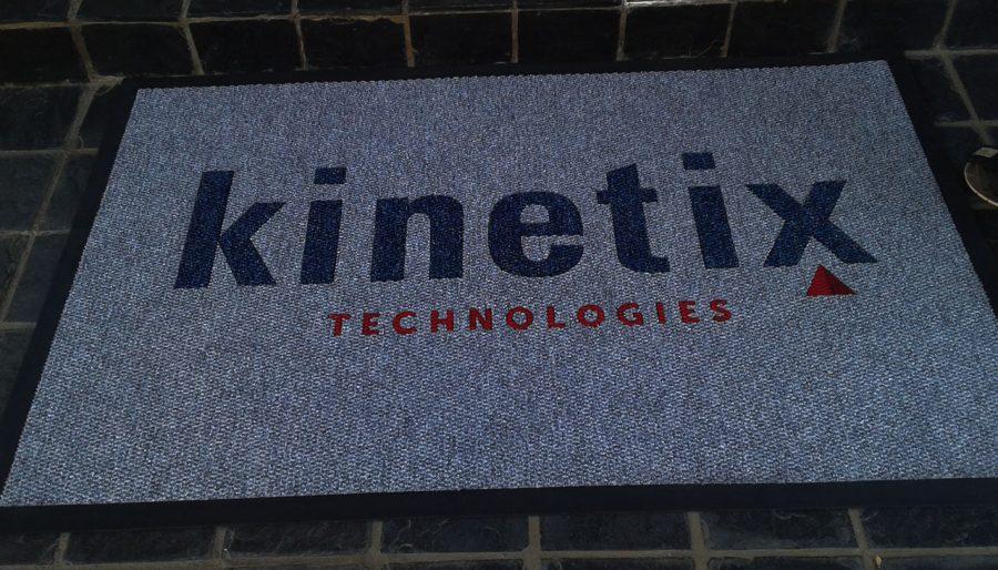 kinetix logo mat