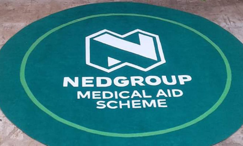 custom entrance logo mat for nedgroup