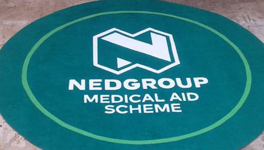 custom entrance logo mat for nedgroup