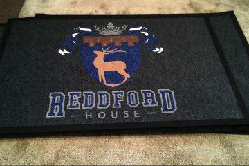 redford house logo or branded mat