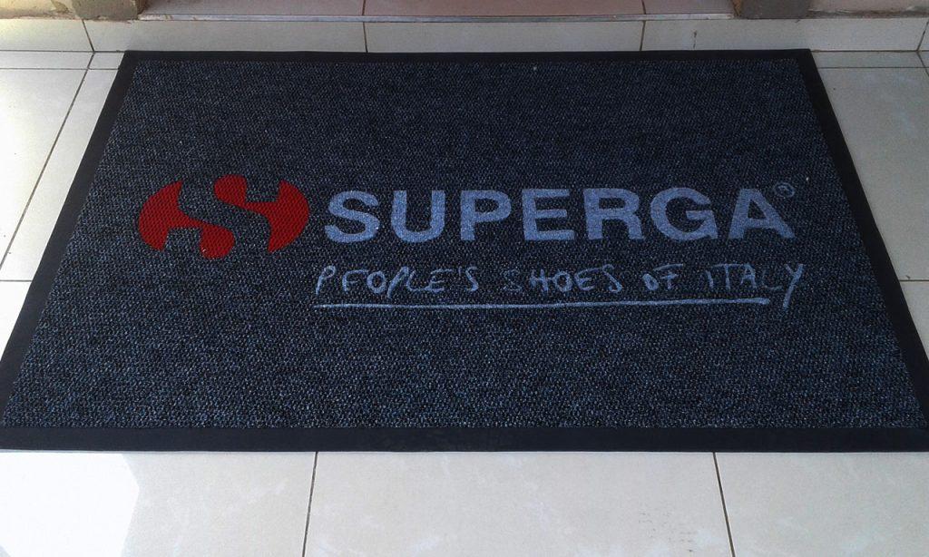 superga branded or promotional mat