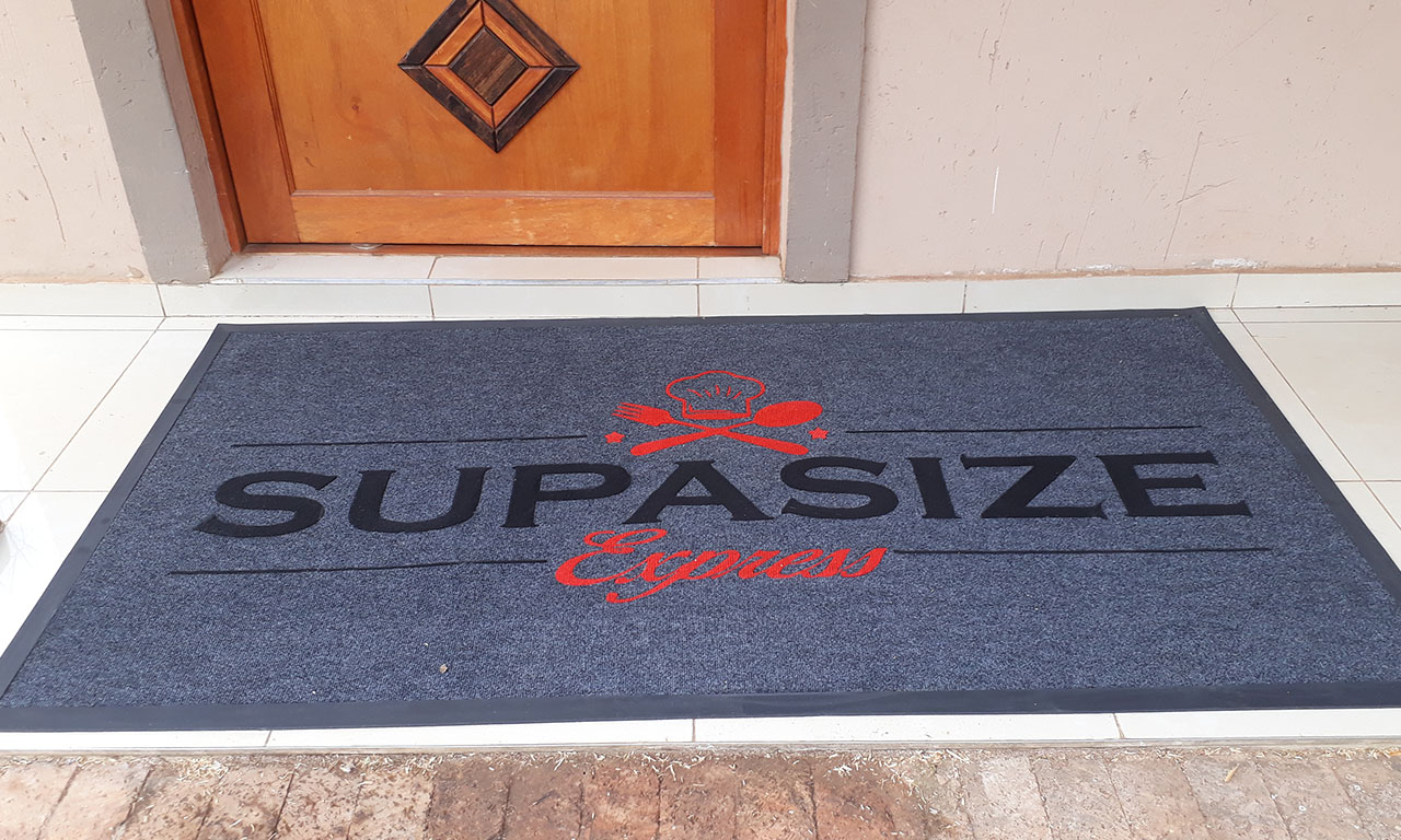 supersize entrance log mat