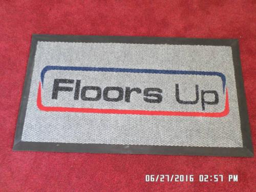floors up logo mat