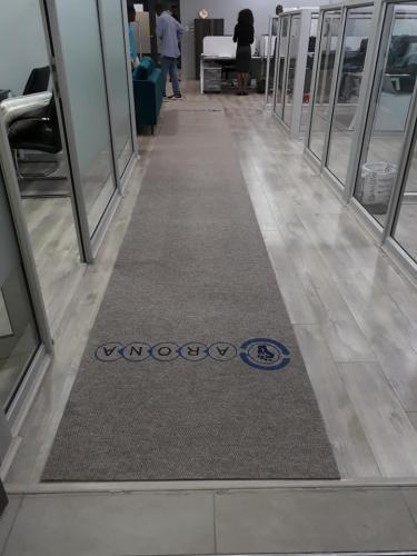 arona promotional mat