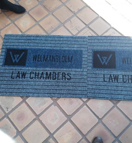 boardwalk  logo mat/ branded mat