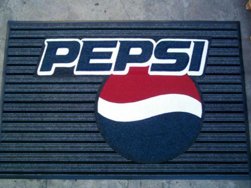 pepsi boardwalk logo mat/ entrance mat