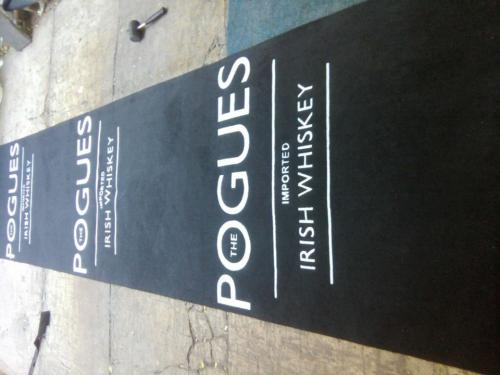 promotional mat for  pogues