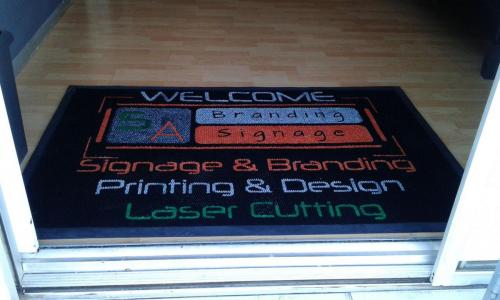 signage company log mat/entrance mat