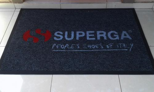 superga logo mat/ entrance mat